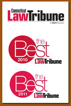 Connecticut Law Tribute Best of 2010 and 2011